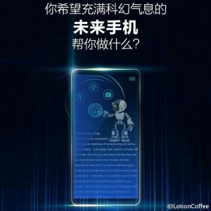Mẫu điện thoại Huawei Honor Magic sẽ có viền màn hình mảnh hơn Mi MIX
