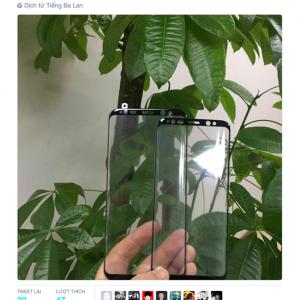 Mẫu Samsung Galaxy S8 xuất hiện ảnh mặt kính
