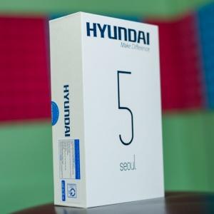 Mở hộp Hyundai Seoul 5: Điện thoại đầu tiên có cảm biến vây tay ở mức giá dưới 2 triệu đồng. Cấu hình ổn.