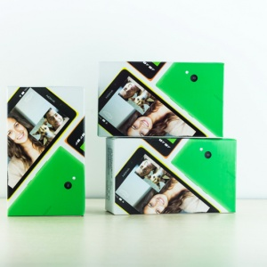 Mở hộp Nokia XL tại Hnam Mobile