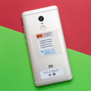 Mở hộp Xiaomi Redmi Note 4: Chiếc máy giá rẻ ở phân khúc tầm trung. Thiết kế nguyên khối, có cảm biến vân tay.