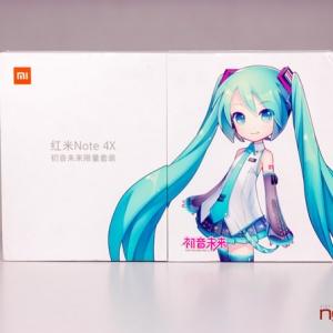 Mở hộp Xiaomi Redmi Note 4X iên bản phHatsune Miku