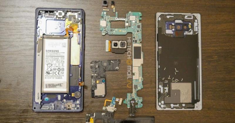 Mổ xẻ Galaxy Note 9: viên pin lớn hơn, tản nhiệt chất lỏng lớn, khe bút S Pen chắc chắn