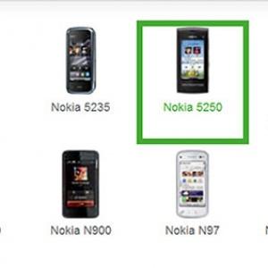 Nokia 5250, 'dế' cảm ứng lai 5230 và X6