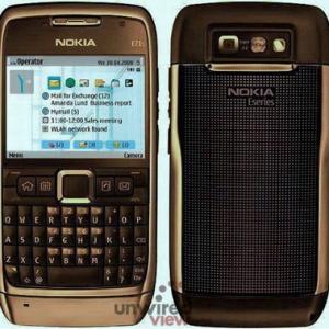 Nokia E71i lên đời camera 5 megapixel