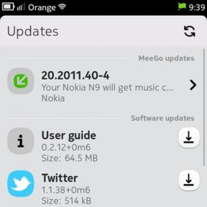 Nokia N9 có bản nâng cấp firmware đầu tiên