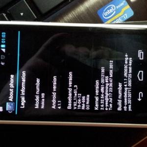 Nokia N9 lộ ảnh chạy Android 4.1