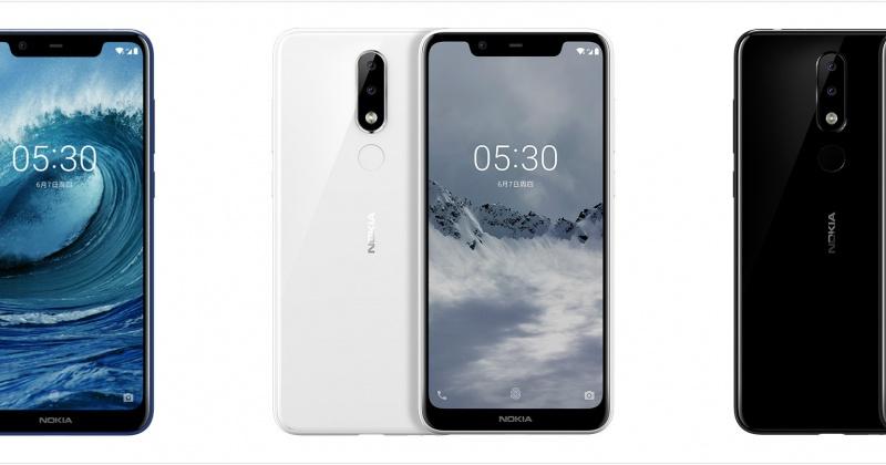 Nokia X5 chính thức ra mắt: màn hình tai thỏ, Helio P60, camera kép, giá từ 3.5 triệu