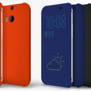 Ốp bảo vệ Dot View - phụ kiện độc đáo của HTC One M8