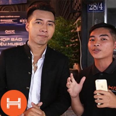 Phỏng vấn Producer Only C trong buổi ra mắt ca khúc: Mình là gì của nhau. Hnam Mobile Hnam Mobile