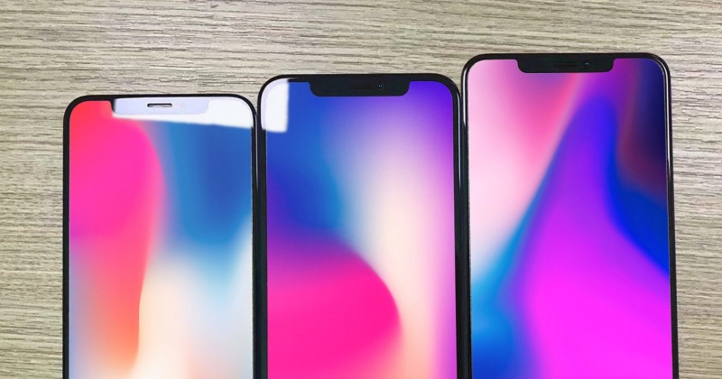 Rò rỉ tấm nền màn hình của 3 chiếc iPhone sẽ được ra mắt trong năm nay