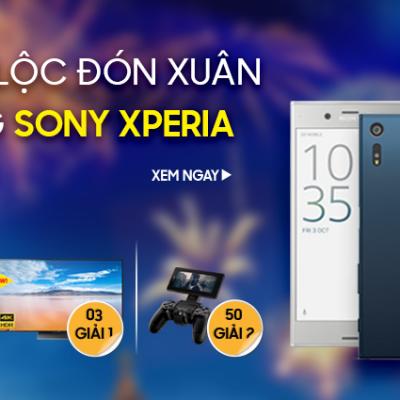 Rước lộc đón xuân cùng Sony Xperia