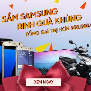 SắmSamsung - Trúng xe Air Blade, Tivi, điện thoại, tai nghe