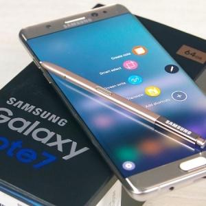 Samsung Galaxy Note 7 tân trang sẽ được bán tại Việt Nam?