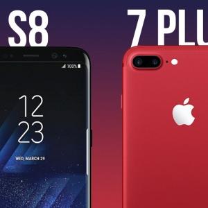 Samsung Galaxy S8 và iPhone 7 Plus: điện thoại nào nhanh nhất?