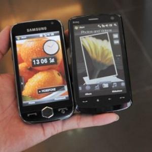 Samsung Omnia II vs. HTC Touch HD