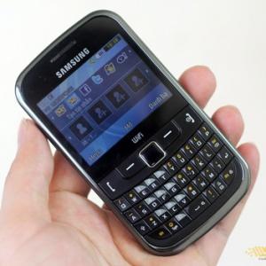 Samsung S3353 - Đối thủ Nokia C3 từ Samsung