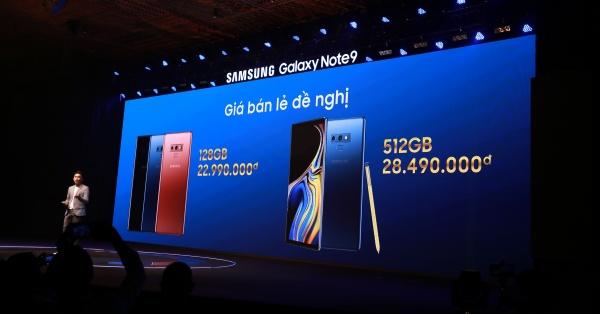Samsung Việt Nam chính thức ra mắt Galaxy Note9 kèm nhiều nhiều ưu đãi chưa từng có