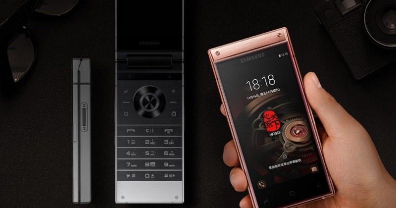 Samsung W2019 ra mắt: Nấp gập 2 màn hình, camera kép, Snapdragon 845
