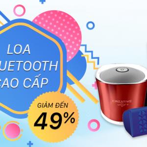 Siêu hấp dẫn: Giảm đến 49% hàng loạt loa Bluetooth cao cấp bán chạy