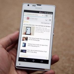 Sony Xperia SP - bản nâng cấp giá trị của Xperia S