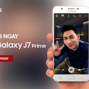 Tặng ngay điện thoại Samsung Galaxy J7 Prime trị giá 6.290.000Đ! Tham gia ngay!