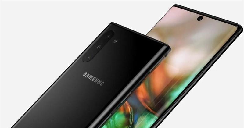 """Thiết kế ấn tượng của Samsung Galaxy Note 10 gây """"thương nhớ"""""""