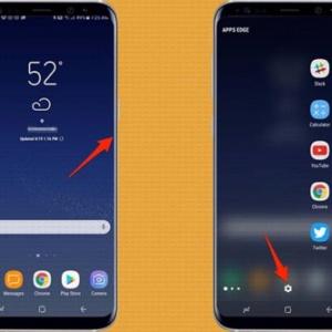 Thủ thuật khai thác màn hình vô cực trên Samsung Galaxy S8