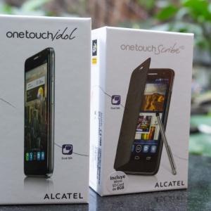 Trên tay Alcatel OneTouch Scribe HD & OneTouch Idol giá Sốc tại Hnam Mobile