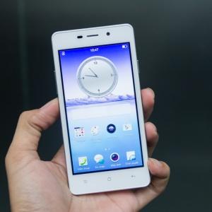 Trên tay Oppo Joy 3 giá rẻ tại Hnam Mobile.
