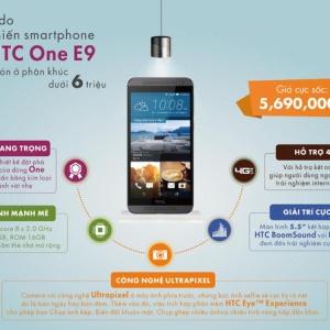 Vì sao HTC One E9 được