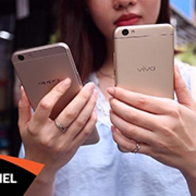 Vivo V5 vs Oppo F1s: Đâu mới là ông vua selfie?