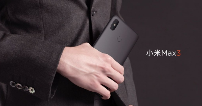 Xiaomi Mi Max 3 ra mắt: pin 5500 mAh, Snap 636, màn hình 6.9 inch, giá từ 5.8 triệu đồng