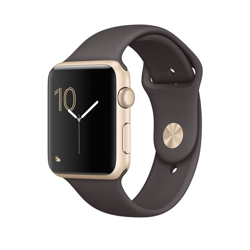 Apple Watch Series 2 42mm Gold Aluminum Case-MNPN2 hình 0