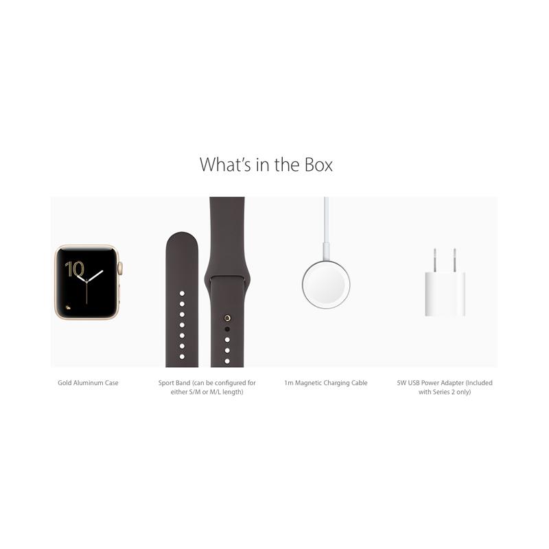Apple Watch Series 2 42mm Gold Aluminum Case-MNPN2 hình 3