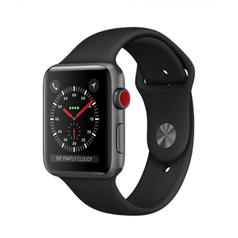 Apple Watch Series 3 Cellular 42mm Gray Aluminum Case- MQK22 ( Trôi bảo hành , chưa Active) hình 0
