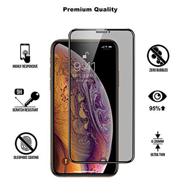 Cường lực chống nhìn trộm Mocoll iPhone XS Max (Full màn hình) hình 1