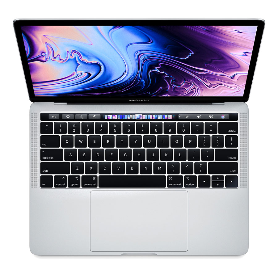MacBook Pro 13 inch Touch Bar 2019 MUHQ2 128GB Silver hình 0