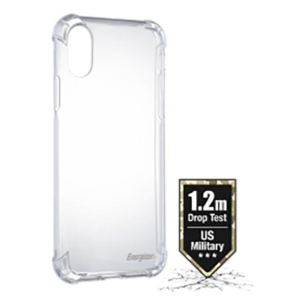 Ốp lưng Energizer chống sốc 1.2m iPhone X/XS - CO12IP58 (trong suốt) hình 0