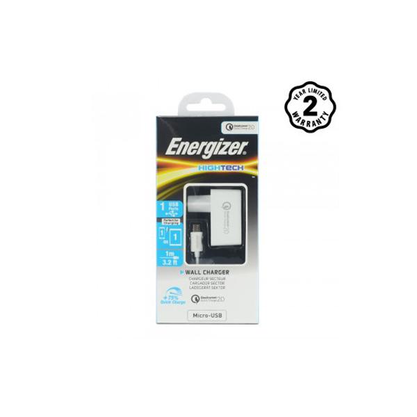 Sạc Energizer QC2.0 (kèm cáp Micro) ACW1QEUHMC3 hình 1