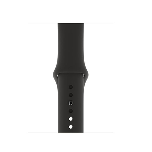 Apple Watch Series 5 44mm LTE Space Gray Aluminum Case with Sport Band Black MWW12 hình 2