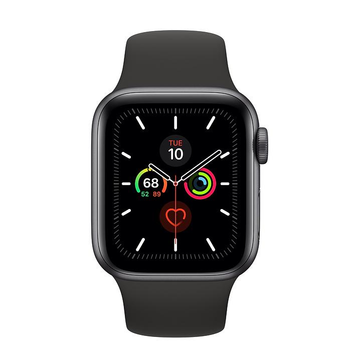 Apple Watch Series 5 GPS 44mm Black MWVF2 - Trưng bày Fullbox hình 1
