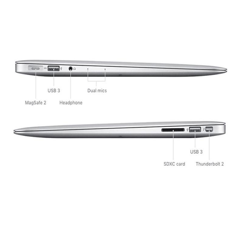 Macbook Air 13.3 inch 2017 128GB MQD32 Silver hình 2