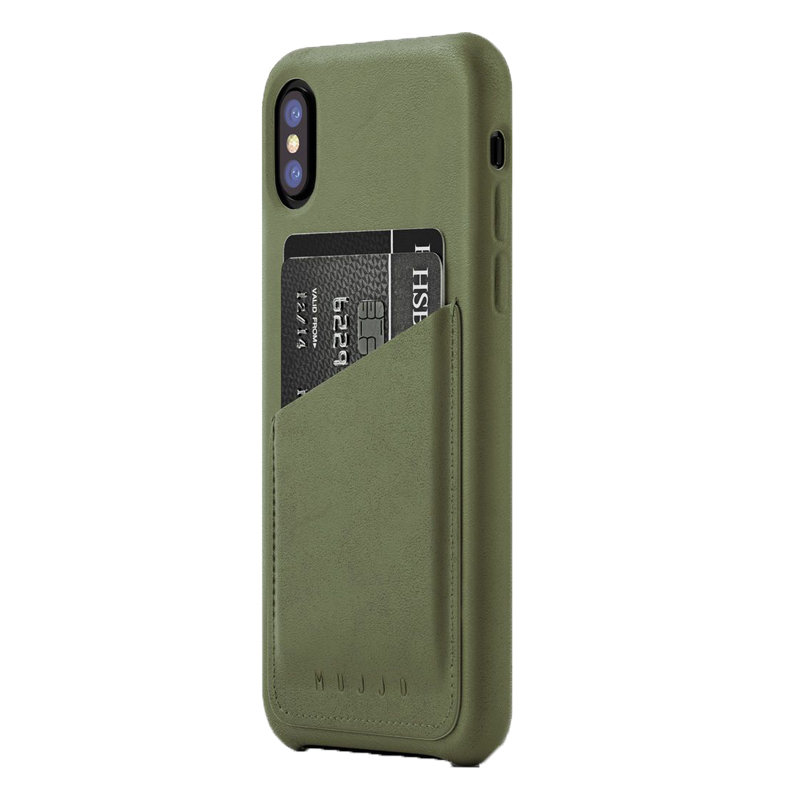 Ốp lưng Mujjo Leather iPhone X (CS-092) hình 0