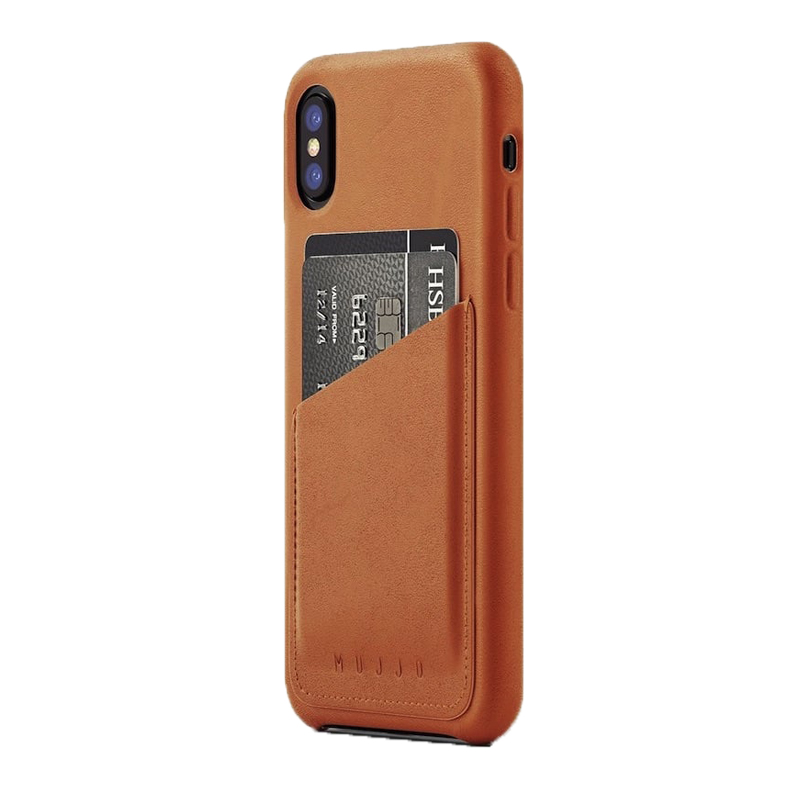 Ốp lưng Mujjo Leather iPhone X (CS-092) hình 1