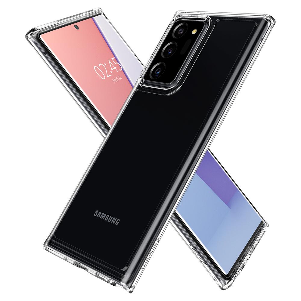 Ốp lưng Spigen Crystal Hybrid Galaxy Note 20 Ultra (trong suốt) hình 0
