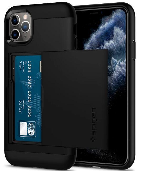 Ốp lưng Spigen Slim Armor CS iPhone 11 Pro Max hình 0