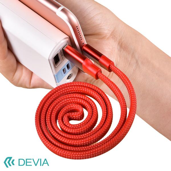 Cáp Devia Lightning Ring Y1 Flexible (80cm) hình 1