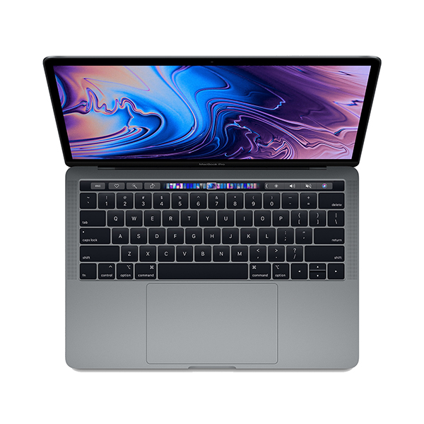 MacBook Pro 13 inch Touch Bar 2019 MUHN2 128GB Gray hình 0
