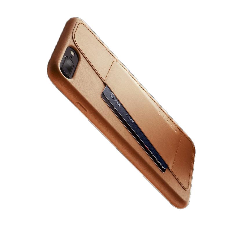 Ốp lưng Mujjo Leather iPhone 8 Plus (CS-091) hình 2